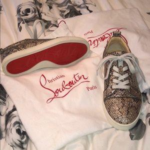 d5e58d6e705a czech christian louboutin snake skin sneakers 1 c3382 d5762  czech christian  louboutin shoes christian louboutin snake sparkly sneakers 9787a 97a9d
